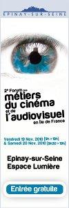 Affiche du forum des métiers du cinéma et de l'audiovisuel